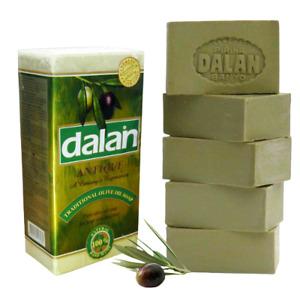 Natural Dalan Olive Oil Soap Turkish Bath Hamam Handmade x 5 Bars