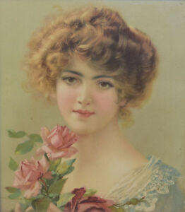 APPEALING EARLY 20TH CENTURY CHROMOLITHOGRAPH