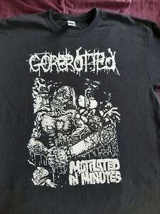 Gorerotted t-shirt, death metal, Cannibal Corpse, Carcass, death, Morbid Angel