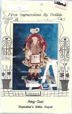 """Vintage Craft Sewing Pattern First Impressions by Debbie Amy Sue 24"""" Rag Doll"""
