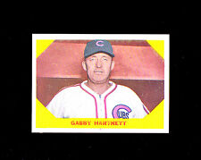 1960 Fleer 29 Gabby Hartnett.  NM+/NMMT, great centering and gloss.  (TX2862).