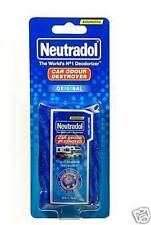 "NEUTRADOL CAR ODOUR DESTROYER ""ORIGINAL"" AIR FRESHENER"