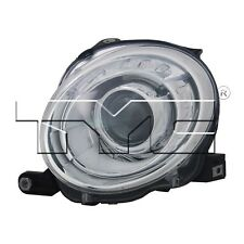 For Fiat 500 2012-2017 Driver Left Headlight Assembly TYC 20-9376-00-1