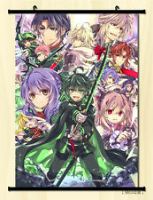 "8""*12""Home Decor Japan Anime Owari no Seraph Wall Poster Scroll Collection 006"