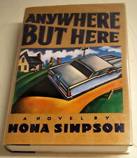 """Steve Jobs Sister Author Mona Simpson """"Anywhere But Here"""" Signed!"""