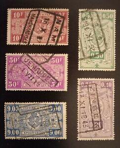 Belgium 1923/4 stamped parcel issue