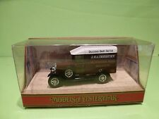MATCHBOX Y-19 MORRIS COWLEY VAN 1929 - SAINSBURY - BROWN 1:39 - EXCELLENT IN BOX