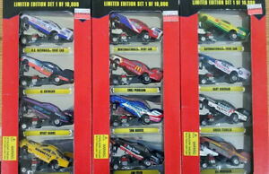 Lot of 3 Racing Champions Funny Cars  4 packs Limited to 10,000 Per pack