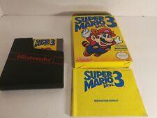 Super Mario Bros. 3 Nintendo NES Complete in Box CIB