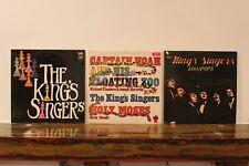 THE KING'S SINGERS S/T+LOLLIPOPS+CAPTAIN NOAH & HIS FLOATING ZOO UK 70s EMI LPx3