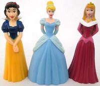 DISNEY PRINCESS Figure Play Set PVC TOY Cake Topper SNOW WHITE Cinderella AURORA
