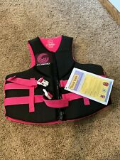 New listing New Cwb Connelly Women's Xl Neo Flotation Vest-Coast Guard Approved Life Jacket