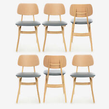 Michelle Wood Restaurant Chairs (Set of 6)