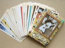 Lot of 32 Vintage Postcards Advertising Album Poster Old Greeting Post Cards