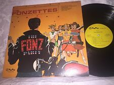 THE FONZETTES - THE FONZ PARTY - 1976 BEE BEE PRODUCTIONS  STEREO ROCK LP