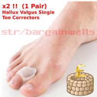 Corrector Hallux Valgus Bunion Toe Splint Straightener Big Foot Support Gel Pad