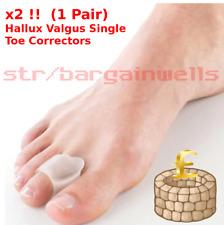 Corrector Hallux Valgus Bunion Toe Splint Straightener Big Foot Support Gel Pad