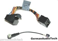 BMW ROUND to FLAT PIN RADIO + ANTENNA ADAPTER HARNESS CABLE E39 540i M5 E53 X5