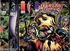 COMICS VO ¤ LOT de 4 WARBLADE n°1-2-3-4 ¤ ENDANGERED SPECIES 1995