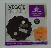 Veggie Bullet Noodle Spiralizer UDON BLADE 5mm Steel Blade - Brand New!