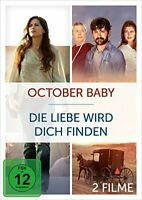 Love Finds You In Sugarcreek + October Baby NEW SEALED 2 DVD BOXSET REGION 2 PAL