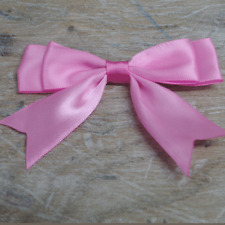 """Satin Large Double Bows Ribbon Bows With Tails  - approx 3-4"""" wide Beautiful"""