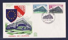 enveloppe 1er jour    conseil de l' Europe    Strasbourg   1978