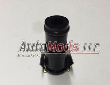 "1.0"" Tall Fuel Injector Top Hat Extender Black 14mm 14 camaro mustang"