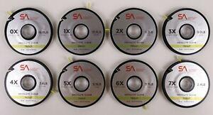 Scientific Anglers Absolute Clear Trout Tippet 7X 6X 5X 4X 3X 2X 1X 0X