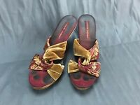 Chinese Laundry Women's Floral Pattern Wedge Sandal Size 8M