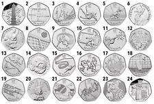 50p RARE Coins - Snowman Kew Gardens Beatrix Potter Olympics - Select Design