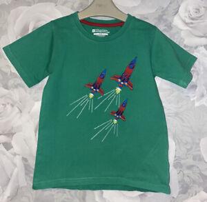 Boys Age 5-6 Years - Mountain Warehouse T Shirt Top
