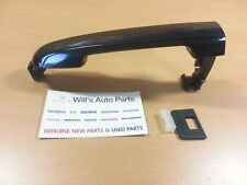 GENUINE NEW OUTER DOOR HANDLE NON PAINTED SUITS HYUNDAI NF SONATA 2005-2008