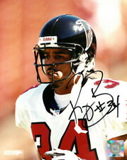 Ray Buchanan signed Atlanta Falcons 8x10 Photo #34 (white jersey- close up)