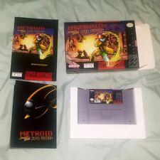 METROID SUPER SPEED ZERO MISSION Super Nintendo SNES Game NEW RARE US