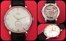OMEGA-BUMPER-vintage Automatic-cal.344-ref.2663.4-jumbo-oversize 37mm-anni'50-
