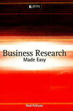 Business Research Made Easy by Rene Pellissier (Paperback, 2007)