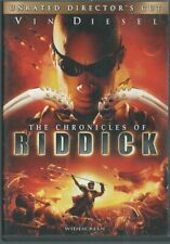 The Chronicles of Riddick w Vin Diesel Unrated Directors Cut Dvd Movie