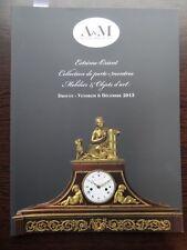 Catalogue de vente Collection de porte montres Succession de M.M. 6/12/2013