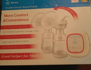 Bplives Double Electric Breast Pump Brand New