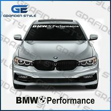 1 stück - BMW Performance - Frontscheibe Aufkleber - Car Sticker - L 97cm !<>!