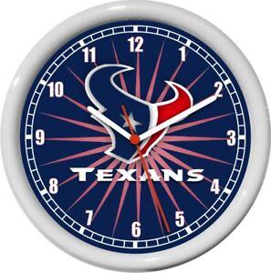 Houston Texans NFL Football Wall Clock