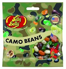 CAMO BEANS MIX - Jelly Belly Candy Jelly Beans - (1) 3.5oz BAG - FREE SHIPPING