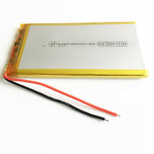 3.7V 5000mAh Li-polymer Lipo Battery 6060100 For PAD power bank tablet pc Laptop