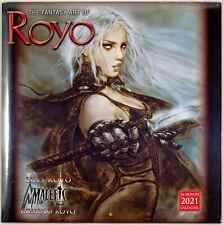 The Fantasy Art of Royo ● 2021 Wall Calendar ● [Sealed] ● 12