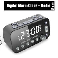 Mini Tragbare LED Radiowecker Digital Wecker Pocket Display DAB Wecker FM Radio