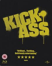Kick-Ass - Steelbook (Blu-ray and DVD, 3-Disc Set) A Great Christmas Gift idea