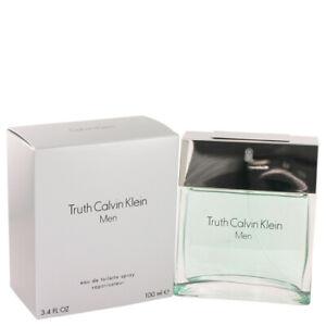 Truth Men's Cologne By Calvin Klein 3.4oz/100 ml Eau De Toilette Spray