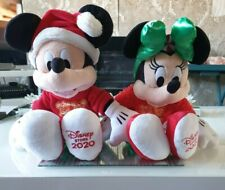More details for disney mickey & minnie holiday cheer plush soft toy christmas 2020 new