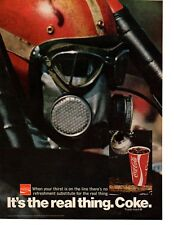 1971 COCA-COLA / COKE - TOP FUEL DRAG RACING  ~  CLASSIC ORIGINAL PRINT AD